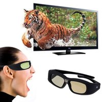 Wholesale 2015 New D Shutter Active DLP Link Projector Glasses For Optama Acer BenQ ViewSonic Sharp Dell D Projector Glasses