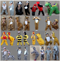 Wholesale Cartoon Children s Cosplay New Cute Animal Kids Clothes Fashion Halloween Christmas Party Costumes Boys Girls Stage performance Clothes