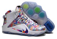 shoes sneakers - High Quality What The LBJ12 Basketball Shoes men XII Basketball Shoes sport shoes Sneakers Size