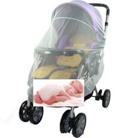 Wholesale 1PCS Baby Pram Mosquito Net Buggy Pushchair Stroller Fly Midge Insect Cover Protector