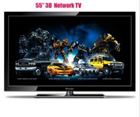 Wholesale The ultra thin inch HD LED screen D Android perfect network TV