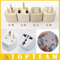 adapter convertor - Hotsale UK CN EU AU To Universial Travel Plug Convertor Universal Travel Power Adapter Plug For UK EU AU CN Plug
