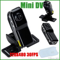Wholesale Fashion Mini Rechargeable DV MD80 DVR Video Camera Portable Hidden Digital Camcorder JBD MD80