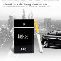 Cheap E-cigarettes gift box healthy smoking style 4-refills cartomizer and 500 puffs each cartomizer JSB wholesaler iSlide PCC