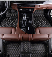 Wholesale Newlly carpet Custom special floor mats for Ford Ecosport waterproof Easy to clean foot carpets for Ecosport