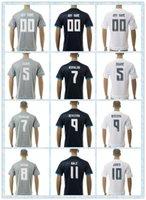 Top Tailandia Fast Real Madrid 1 DE GEA Bale # 8 Kroos 7 # Ronaldo # 10 James # 5 ZIDANE 2.015 a 2016 Blanco Gris Negro Jersey de fútbol azul camisa completa