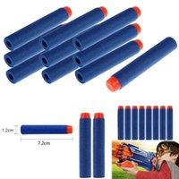 Wholesale 100pcs set Nerf N strike Elite Rampage Retaliator Series Blasters Refill Clip Darts toy gun soft nerf bullet