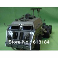 Cheap Wholesale-Free shipment A3 paper model Truck 70CM long 1:25 US M25 Dragon Wagon Military Vehicles 3d puzzles for adults car paper crafts