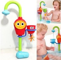 Wholesale Bath toys Favorite baby bath toys play taps buttressed music spray shower
