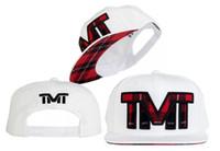 Wholesale The Money Team TMT Courtside Rich BBC Red Pink Blue Black TBE Street Wear Snapbacks Cap Adjustable Caps Hats Mix Order