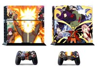 Cheap Naruto 274 Vinly Skin Sticker Protector for Sony PS4 PlayStation 4 and 2 controller skins Stickers Free Shipping