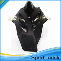 fitness equipment - Hot Sport Mask S M L Size M Boxing High Altitude Men Fitness Supplies Sport Mask Outdoor Fitness Equipment Attire