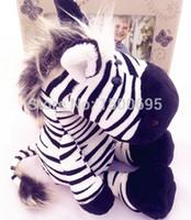 nici - 50cm NICI Zebra doll fierce jungle brothers plush toys birthday gift