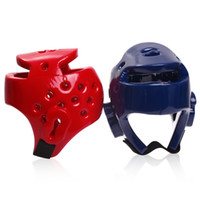 Wholesale Kids Adults Boxing Helmet Taekwondo Headgear Head Guard Protection Sanda Helmet S XL