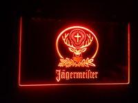 beer sign - b Jagermeister Beer Bar LED Neon Light Sign