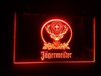 beer neon light - b Jagermeister Beer Bar LED Neon Light Sign