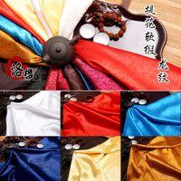 Wholesale Dragon Jacquard Silk Cotton material Antique Satin Practicing Kung Fu Han Chinese Costume COS Clothing Brocade Fabrics