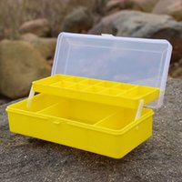 Cheap Professional Sea Fishing Boxes Foldable Design Fishing Tackle Box Fishing Lure Box Fishing Tool,free shipping FHG_603