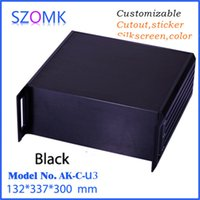 big box distribution - szomk electronics rack aluminum enclosure distribution project box mm big size aluminum extrustion enclosure AK C U3