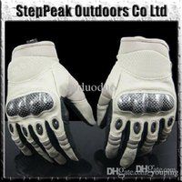Wholesale 2015 New Outdoor Sports Fingerless Military Tactical Airsoft Hunting Gloves Cycling Full Finger Glove SG