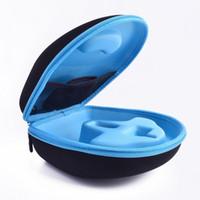 big headphone case - Original EVA Big Headphone Box Case for cent big headband headphone Double Zipper Travel Anti knock Carry Bags High quality