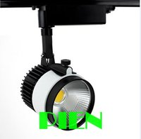 Wholesale w LED Track light Kitchen ceiling rail stand Spotlight LM W V PIN Integrated chips by DHL
