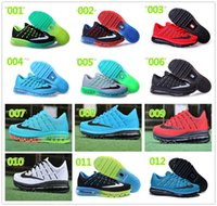 Cheap Popular Men 2016 Running Shoes Mesh Breathable Lightweight run sneakers outdoor Shoes 12 colors size 40-45