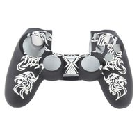 Wholesale Pattern Silicone Rubber Skin Case Cover For PlayStation PS4 Controller Hot