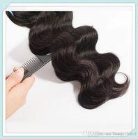 bangladesh hair - New Arrival Bangladesh Human Hair Weaving pc Body Wavy g Muse Thick Hair Bundle Full Head Baby Hair Weft fast ship for piece