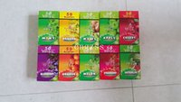 Cheap 11 4 size of WIZ fruity flavored cigarette rolling Papers 50 booklets  box for 78mm rolling machine grinder glass bong hot free via DHL
