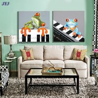 abstract piano artist - Piano Concert Direct From Artist Hand painted Modern Abstract Oil Painting On Canvas Wall Art Gift Decoration No Framed CT040