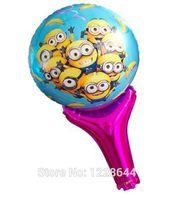 aluminium foil holder - Cartoon foil balloons Inflatable holder Classic toys for children Kis party supplies