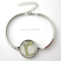 cod - 1 pc Cape Cod map pendant Cape Cod jewelry Cape Cod bracelet photo pendant round glass charm bracelet bangle