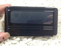 Precio de Cámara espía venta caliente-Reloj de escritorio de la cámara del registrador del reloj de la venta caliente HD 720P Reloj de escritorio ocultado DVR de la cámara del despertador DV mini con la leva 10pcs / lot del reloj de la detección del movimiento