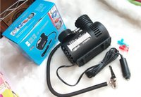 Wholesale Micro pump V car air pump Tires with air car air pump Mini Portable Inflatable Pump a bag
