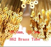Wholesale 6 mm OD mm ID mm H62 Brass Tube Copper Pipe Diy Material About mm pc
