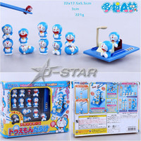 balance collection - New quot Doraemon full quot Pick Piled Balance Game Chopsticks Practice Decoration Figure Collection Model Toy