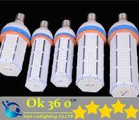 led light bulb 100w - Super Bright SMD Led corn bulb E27 E40 W W W W W W W Led Corn Light Angle Led lamp corn bulb lighting AC100 V