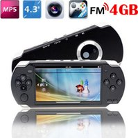 "Cheap Portable 4.3"" 8GB MP5 Game Player 1.3MP Camera PMP MP3 MP4 Multimedia Console Recorder free 2000 Games FM TV out"