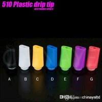 Wholesale 510 Drip tips Drip tip Mouthpiece e cigarette tank drip tip Atomizer in Stock fast shipping