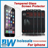 overseas - Overseas warehouse iphone tempered glass Top Quality tempered glass Screen Protector MM H D Arc Explosion Proof