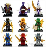 Wholesale 2015 New th ninjago building blocks Ninja toys action Figures