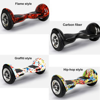 Wholesale Smart Balance Wheel Scooter inch Self Balance Two Wheel Electric Scooter Balance Scooter Samsung Battery Free DHL
