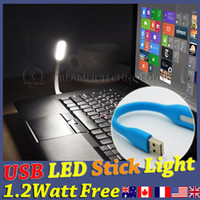 Wholesale Watt USB LED Stick Light Desk Lamp Led for PC Notebook Laptop Power Charge Bank Travel
