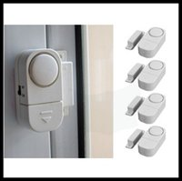 Wholesale RL Special Wireless Door Window Sensor Magnetic Switch Home Security Alarm Bell Burglar Warning Safety System DHL EMS