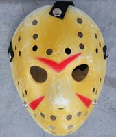 Wholesale Jason Voorhees Freddy Hockey mask Festival Halloween Masquerade costume party Mask
