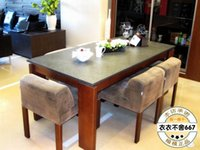 Wholesale Simple modern style furniture dining room funiture dining table and chairs