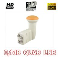 good band gain - Quad dB digital full HD D high gain Ku Band LNBF FTA Satellite Dish LNB