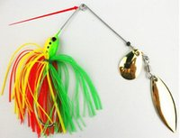Wholesale 10PCS g oz lure fishing spinner bait Buzzbait Fluff color optional Fatal Attraction High quality