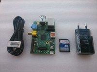 Wholesale Raspberry Pi Model B MB RAM Mhz G SD card European standard power model B Raspberry Pi Rev MB RAM BCM2835